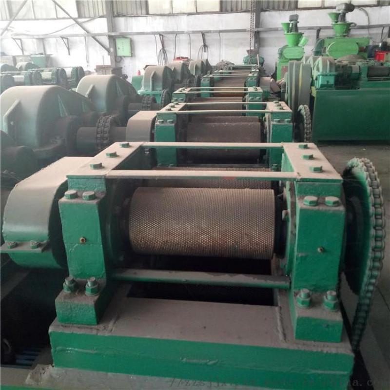 复合肥生产线对辊造粒机 造粒机生产线与磨具 硫酸镁钾肥对辊挤压造粒机