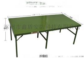 户外军绿色折叠桌 军绿色折叠桌批发商