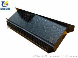 立冈机床QT55/45数控车床导轨伸缩钢板防护罩