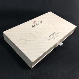 广州定制加厚面膜抽屉盒精品化妆品包装盒厂家
