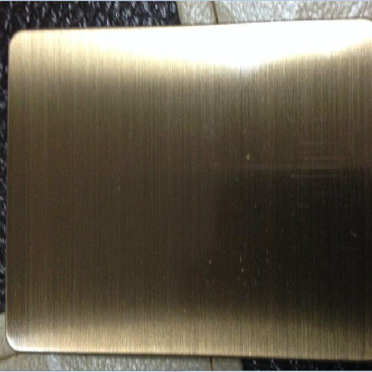 拉絲玫瑰金, 304拉絲玫瑰金不鏽鋼板, 拉絲不鏽鋼彩色板