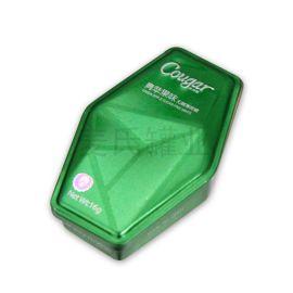 糖果压片盒包装设计 水果味润喉糖铁盒 密封食品盒定制