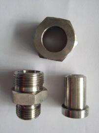 不锈钢JB984-77焊接式直通管接头
