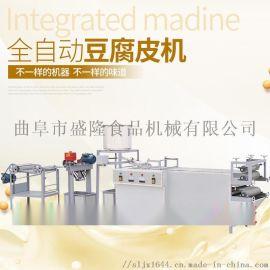 新型千张机豆芽机河南安阳自动豆腐皮机生产视频