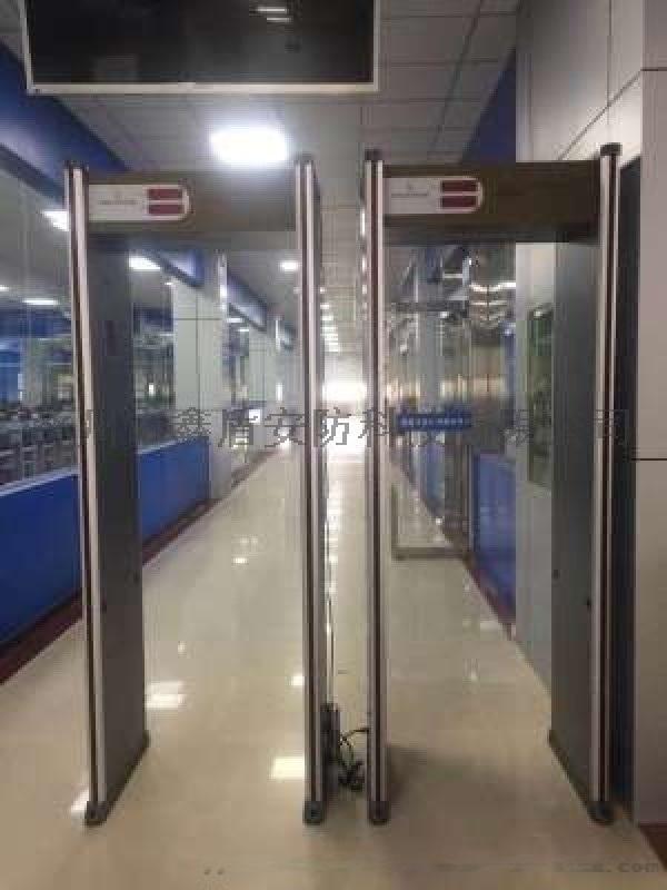 金属探测安检门 6分区带灯柱安检门XD-AJM2价格