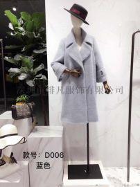 厂家直销品牌剪标服装尾货女装折扣店拿货一手货源