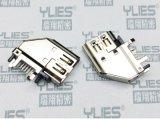 496-HDMI连接器 母座 侧插式连接器