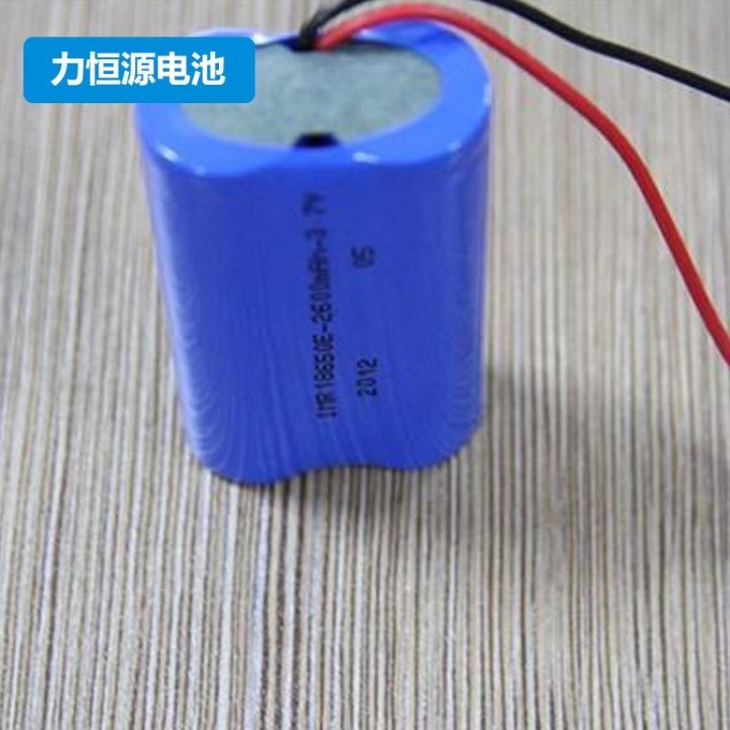 1500mah 7.4V带保护板18650锂电池组
