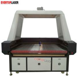 自动送料数码印花摄像头定位巡图激光切割机
