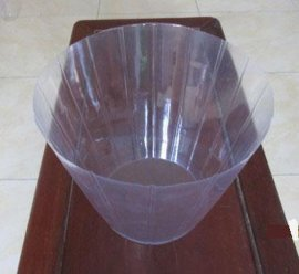 PVC花盆圆桶