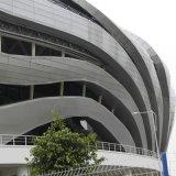 廠家直銷弧形鋁單板曲面建築異型鋁單板建材