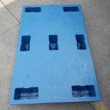 厂家直营平板塑料七脚托盘物流轻型卡栈板吹塑防冲击塑料叉车托盘