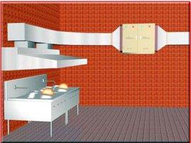 静电式厨房油烟净化器
