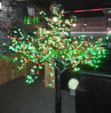 桃林LED樹燈24V低壓--1J08七彩櫻桃樹燈