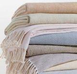 新款桑蠶絲毛毯批發 100%桑蠶絲提花毯 外貿真絲毯加工