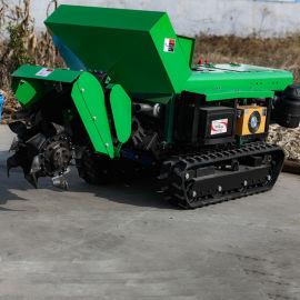 果树开沟施肥机 全自动开沟回填机 果园开沟施肥机