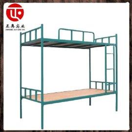厂家长期供应 可定做 双层铁架子床, 高低床, 宿舍床, 公寓床, 组合床