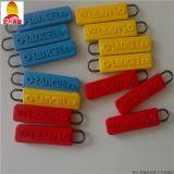 PVC軟膠拉鍊頭訂製 專用LOGO鞋服拉鍊頭訂做 滴塑拉鍊頭