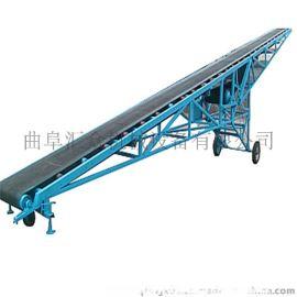 加宽槽型皮带机 圆管胶带输送机报价表 复合肥皮带输送机
