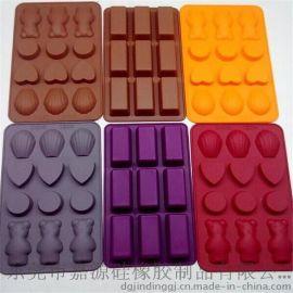 12穴硅胶蛋糕模 巧克力模具 糖果烤模