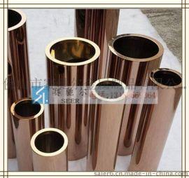 青铜 古铜不锈钢装饰方管 圆管