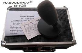 MASDOORWAY麦斯拓 BY-1界面播音话筒 播音访谈话筒 录音棚话筒麦克风