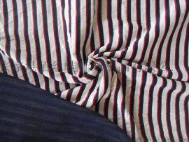 纯棉双层连接布提花面料