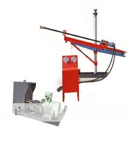 探水钻机型号ZYJ-400/130型架柱式液压回转钻机