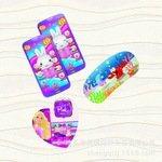 厂家定制3d卡片印刷新款热销手机壳贴片精美三维立体图案