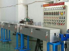 东莞虎门硅胶电线、硅胶发热线押出机