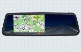 5寸后视镜GPS