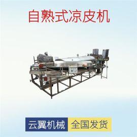 高产量不锈钢河粉机 全自动数控圆形凉皮机 蒸汽式小型凉皮机
