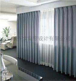 济缘医用窗帘布、医院窗帘、阻燃环保  窗帘、卫生透气会议室布艺窗帘