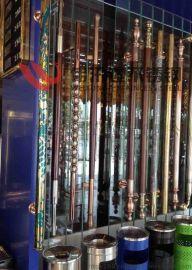 现代欧式玻璃门水晶拉手,中式玻璃门不锈钢水晶拉手