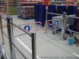 金石伟达超市入口闸机通道