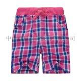 童中裤  女童短裤子 童装短裤 外贸儿童裤子 夏季短童裤 小童格子短裤