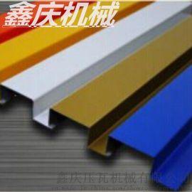 厂家制造彩钢广告扣板机设备 彩钢扣扳机 C84彩钢扣扳机