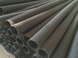 鄭州曲紋網狀PE硬式透水管產品規格型號