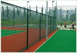 佛山  中学PVC包胶蓝球场护栏网球场围栏