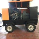 朗昆电动工频螺杆空压机 13立方14公斤90KW