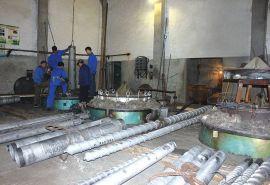 亚克力料注塑机螺杆机筒专业定制金鑫螺杆机筒