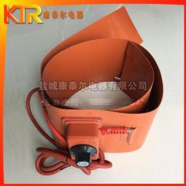 道路化雪硅橡胶加热片 带温控旋钮油桶加热带 管道保温加热片