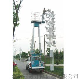 厂家热卖4-20米车载铝合金升降平台单柱双柱 电动液压剪叉升降机