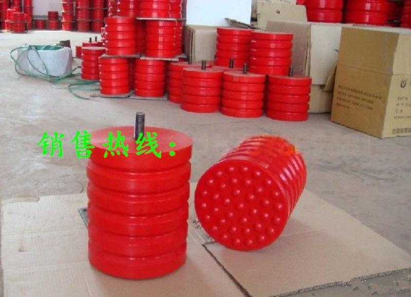 厂家直销JHQ-A-19聚氨酯缓冲器 缓冲性能高 价格低缓冲器 螺杆式聚氨酯缓冲器 卷扬机用缓冲器