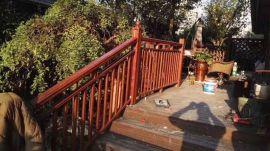 专业设计别墅铝合金护栏 欧式庭院围墙铝艺护栏 铝合金围栏阳台护栏