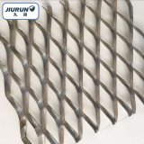 氟碳噴塗鋁板擴張網 幕牆拉網 菱形裝飾鋼板鋁拉網工廠定製