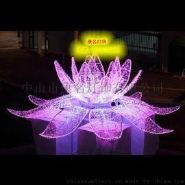 莲花造型灯LED圣诞老人图案灯LED圣诞铃铛造型灯