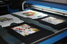 厦门个性T恤数码印花机 小平板印花机 A3幅T恤印花/万能打印机