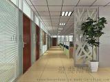 山東濟南鋼化玻璃隔斷   辦公室百葉隔斷