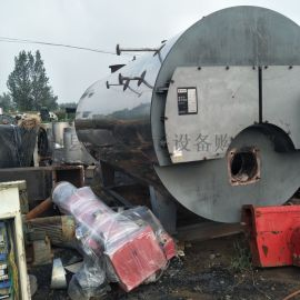二手2吨卧式燃气燃油蒸汽锅炉